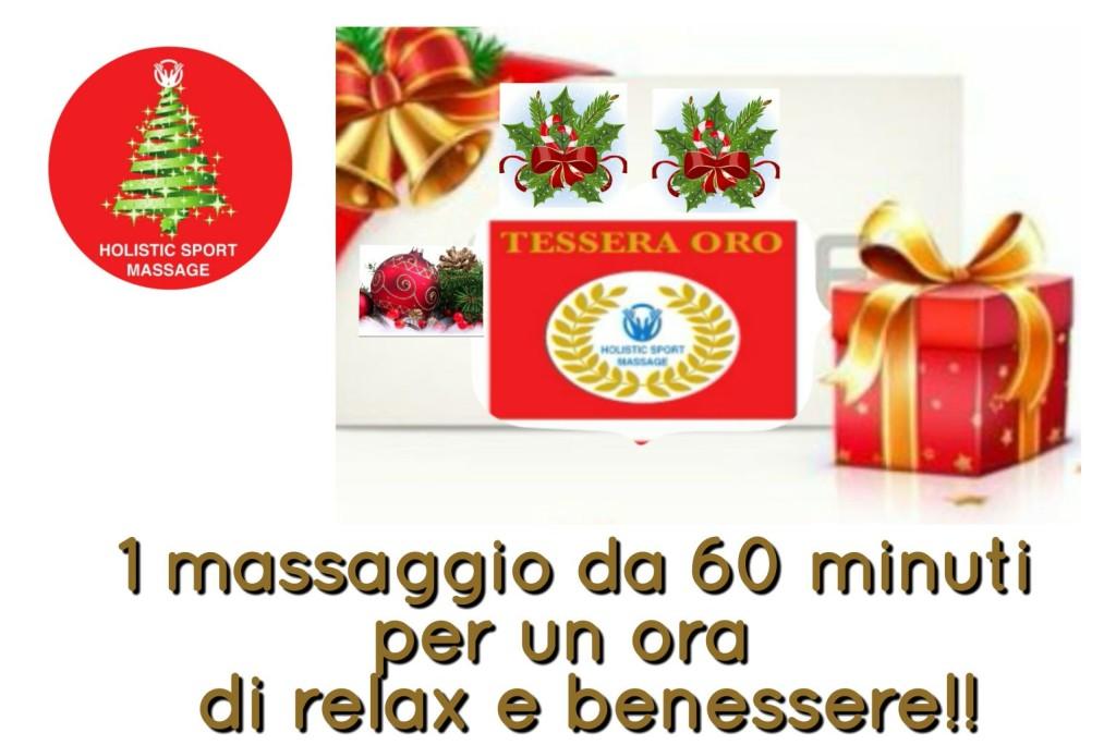 Tessera Oro Regalo Holistic Sport